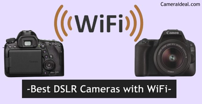 Best DSLR Cameras with WiFi