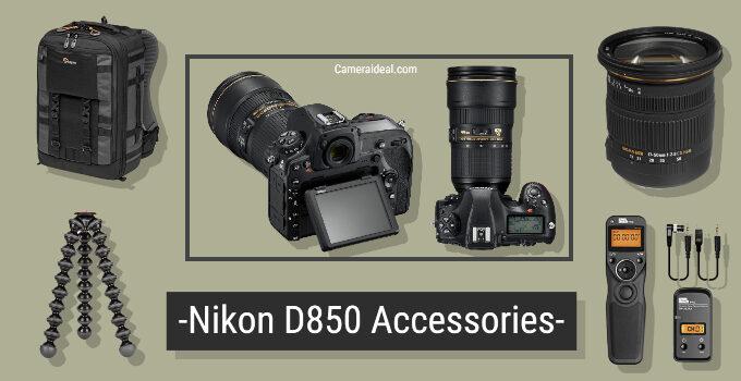 Best Nikon D850 Accessories